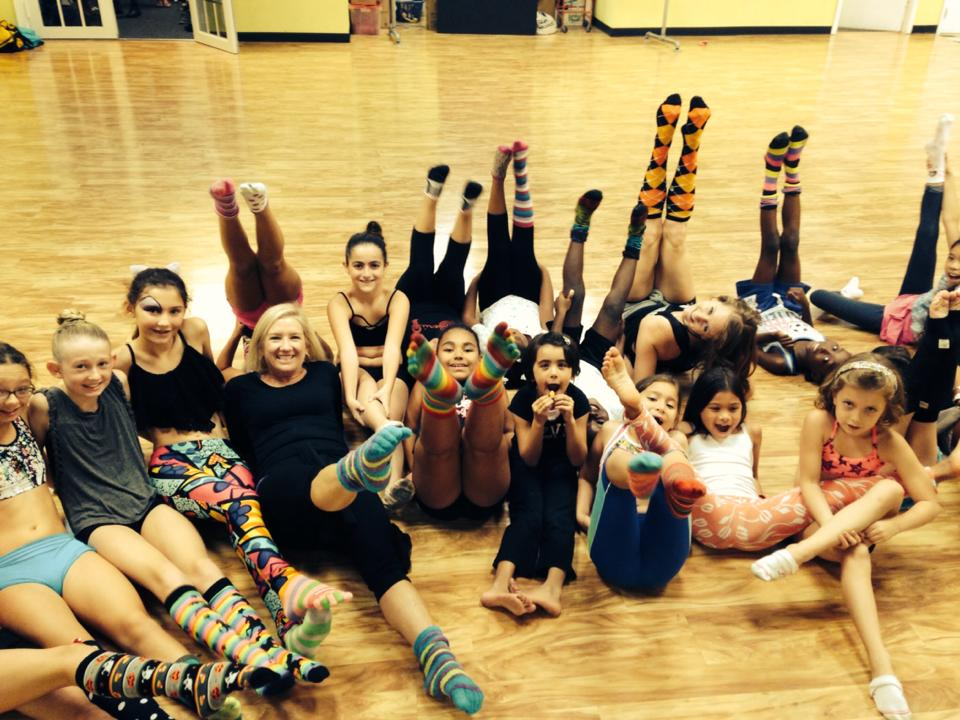 silly sock day at UCPA