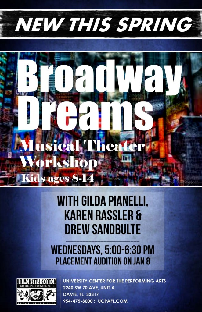 POSTER Broadway Dreams