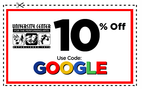 UCPA 10% OFF Fall Semester GOOGLE COUPON