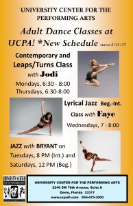 All new adult dance classes 2017 (1)